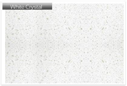 Quartz White Crystal Plan de travail - Plan-de-Travail-974.com